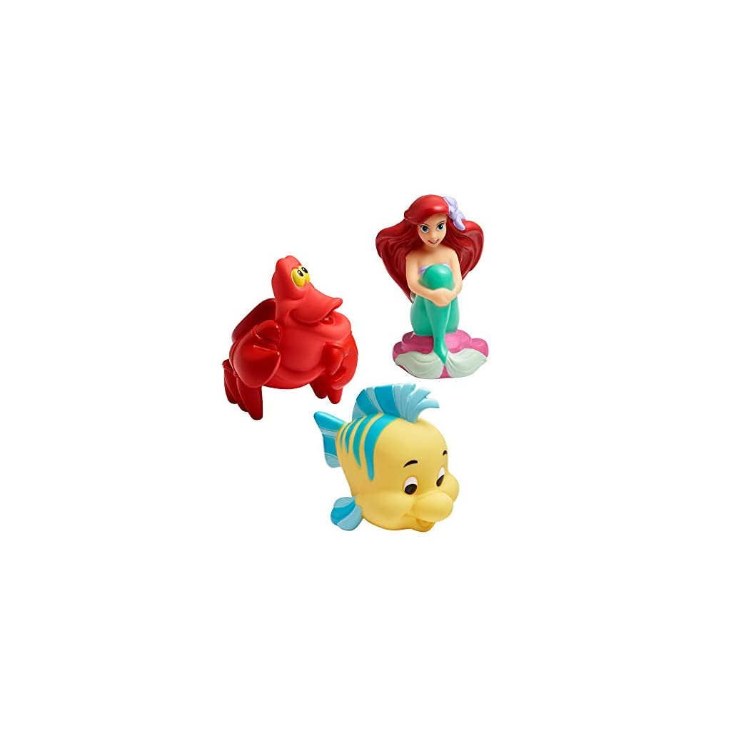 Best Disney Toys for Kids - The First Years Disney Baby Bath Squirt Toys, The Little Mermaid