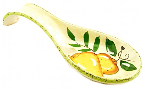 Pear Pattern Spoon Rest Kitchen Decor