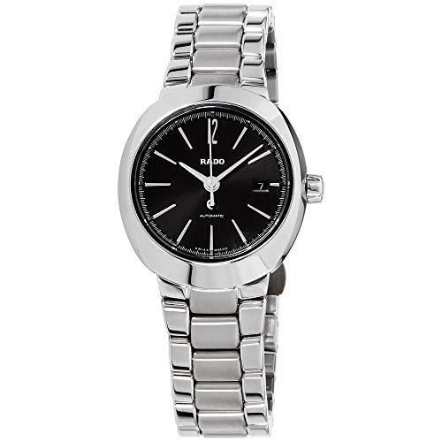 - Rado D-Star Black Dial Stainless Steel Ladies Watch R15514153