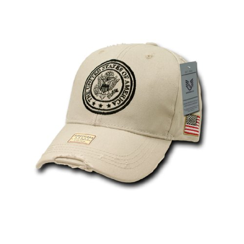 Rapid Dom US Military Memorial Vintage Polo Baseball Caps A01 - The Douglas Mall