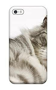 For Tammy Allen Penner Iphone Protective Case, High Quality For Iphone 5/5s Cat Skin Case Cover