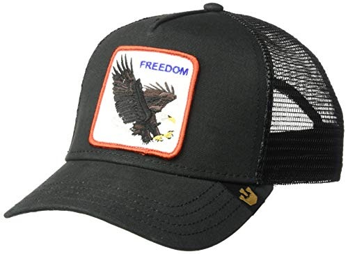 Goorin Bros. Men's Animal Farm Snap Back Trucker Hat, Black Eagle One Size - Trump Collection Signature