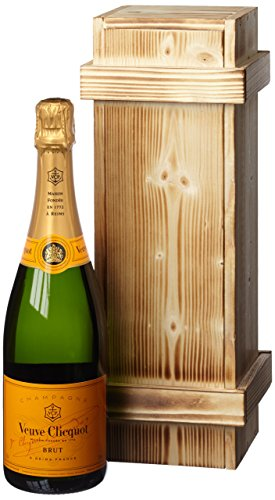 Veuve Clicquot Brut Yellow Label in Holzkiste (1 x 0.75 l)
