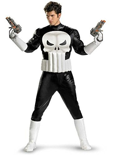 The Punisher Costumes (The Punisher Adult Costume -)