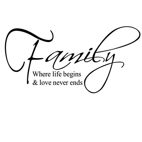[Family Quote Sticker Removable Vinyl Wall Decals Letter Wall Art Inspirational Home Decor For Home, Office, Dorm, Or Any Wall,12 X] (Animal That Starts With The Letter N)