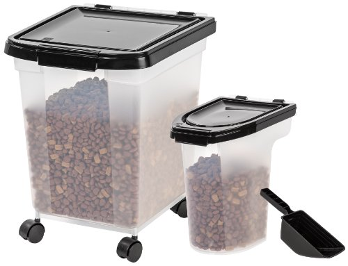 8 Quart Seed Container - IRIS Airtight Food Storage Combo with Scoops