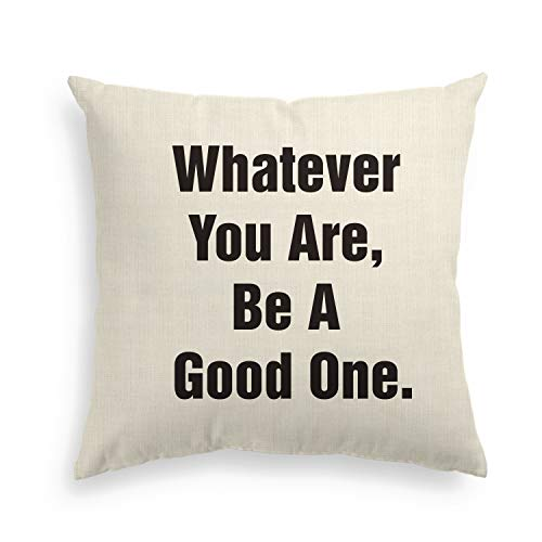 Artoid Motivational Quote Holiday Linen Decorative Throw Pillow Cover Case Abraham Lincoln, Theodore Roosevelt, Barrack Obama | 18 x 18 Inch Memorial Day July 4th Independence Day ()