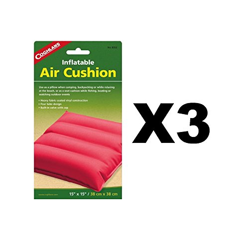 Coghlan's Inflatable Air Cushion Fabric Coated Vinyl Pad Assorted (Vinyl Coated Fabrics)