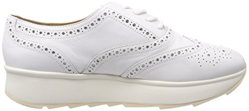 Brouge Bianco Geox Donna Gendry A D White Scarpe Stringate HH0qXvCw