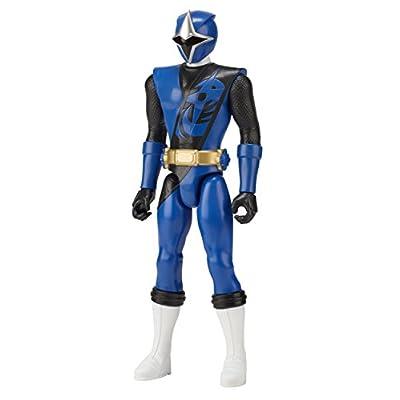 Power Rangers Super Ninja Steel 12-inch Action Figure, Blue Ranger: Toys & Games