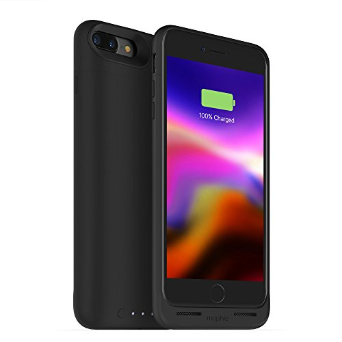 mophie Juice Pack Wireless - Charge Force Wireless Power - Wireless Charging Protective Battery Pack Case for iPhone 8 – Black by mophie