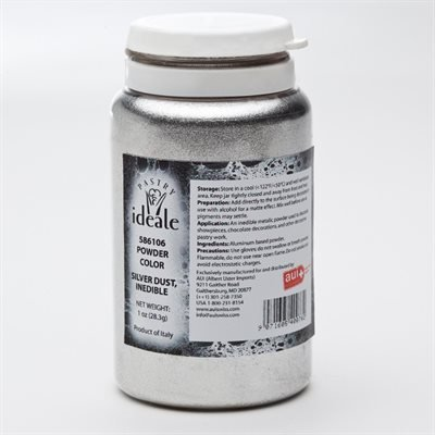 Pastry Ideale Silver Dust (Inedible) - 1 oz