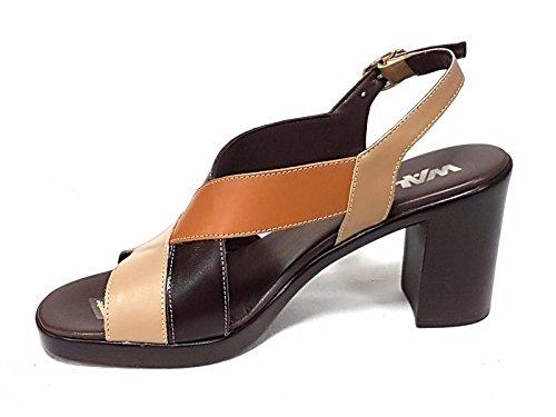 MELLUSO - Sandalias de vestir de Piel para mujer marrón canapa
