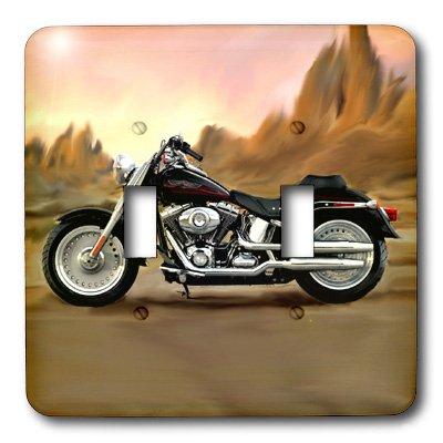 3dRose LSP_4841_2 Picturing Harley Davidson Motorcycle Light