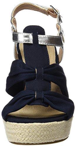 Navy Sandales Bleu 046579 Femme Xti Plateforme navy x1wT7wYq