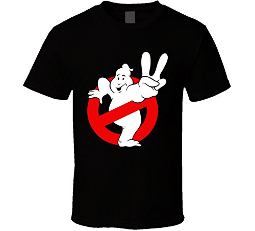 (Ghostbusters 2 II Comedy Cult Movie T Shirt L Black)