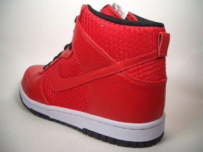 Nike Dunk High Premium 408174602taglia 38,5/US 6/UK 5,5/Euro 24cm, colore: rosso