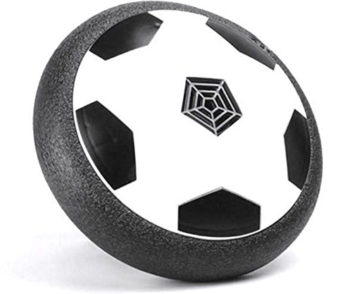 Selling Stuff to Everyone Kids Toys Hover Ball - Soccer Disc with LED Lights and Foam Bumpers for Indoor and Outdoor Game-Air Power Soccer disc