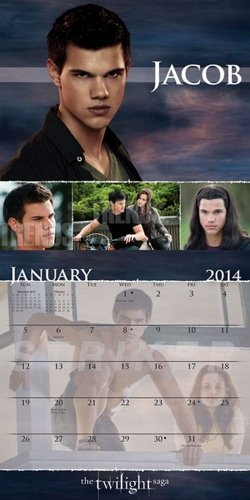The Twilight Saga Breaking Dawn 2014 Calendar