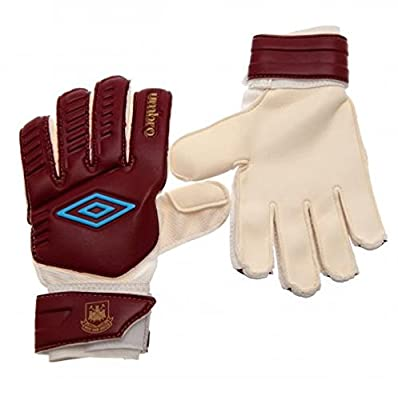 Youths Umbro Goalkeeper Gloves - West Ham United F.C by Bourne Gifts
