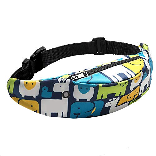 (Mortilo Sports Hiking Running Belt Waist Bag, Fashion Travel Colorful Fanny Bag Super Lightweight for Travel Waist Pack (H))