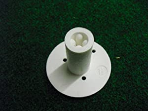 Rubber Golf Tee Holder for Practice & Driving Range Mats (available in two sizes)