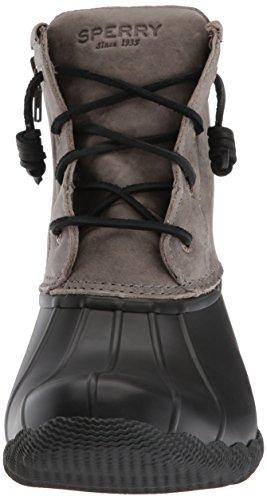black Sperry Beige Pioggia Saltwater Stivali Rope Da Donna Warwz0afq