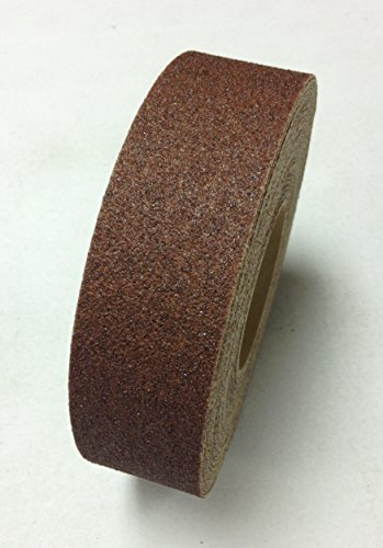 x60' Anti-slip abrasive safety tape  Brown Color-60 Foot Length Rolls (60' Roll Anti Slip Tape)