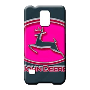 samsung galaxy s5 Excellent Shock Absorbent Protective Stylish Cases cell phone covers john deere pink
