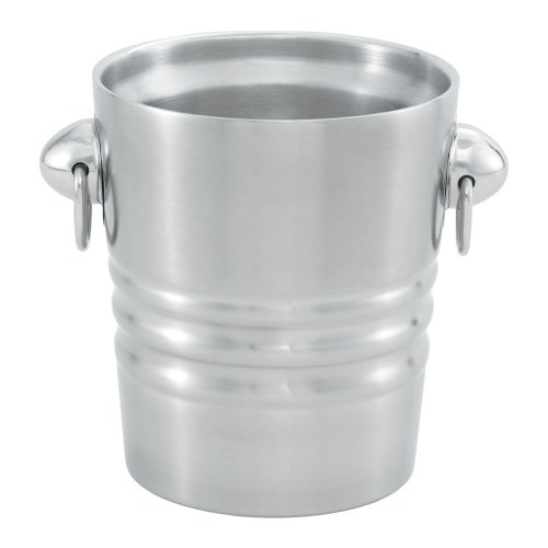 Champagne Satin Finish - Vollrath (46616) Double Wall Champagne / Wine Bucket (2-Quart, Satin Finish Stainless Steel)
