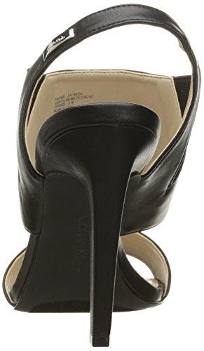 Calvin Klein Women Dress Black Safari Sandal 7O7qnrzw