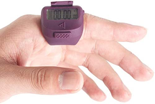 COUNTU Tempo 50M Waterproof, Lap Counter, Timer, Stopwatch, Sport,Swim,Count,Time,All-Purpose,Tracker,Pacing Device