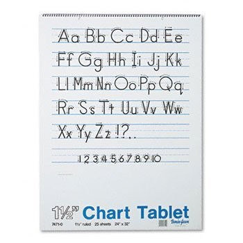 Pacon® Chart Tablets PAD,CHART24X32,1.5'',25SH (Pack of15)