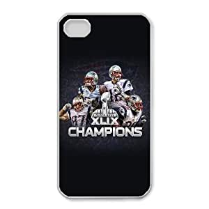 iphone4 4s Phone Case White New England Patriots JGL603055
