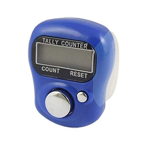 BlackC Home Mini 5 Digit LCD Electronic Digital Golf Finger Hand Ring Tally Counter -