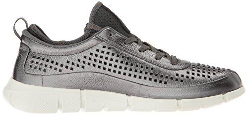 1 ECCO Metallic Low Women's Top 59222dark Sneakers Intrinsic Shadow Grey qTTEzw4