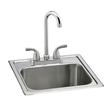 Elkay Neptune Top Mount Stainless Steel Bar Sink Set By ELKAY