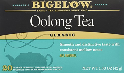 Bigelow Oolong Tea Bags Classic- 20 ct Caffeinated