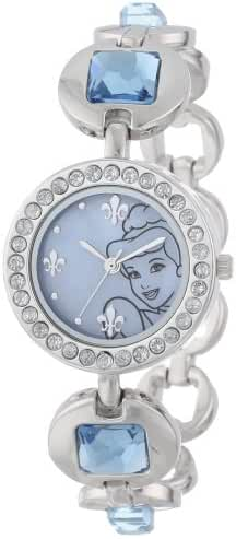 Disney Kids' PN2000 Cinderella Rhinestone-Accented Watch