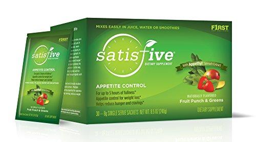 F1RST ® SatisFIVE ® - Control de apetito - hasta cinco horas de la plenitud