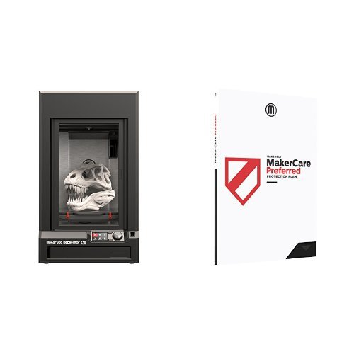 MakerBot Replicator Z18 3D Printer, Firmware Version 1.7+ and MakerCare Preferred Protection Plan for Replicator Z18 - 3 year