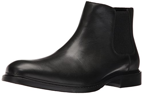 Kenneth Cole Men Grand Scale Chelsea Boots Black(Black001)