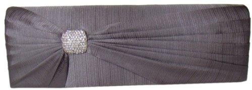 DIVA-MODE - Bolso pequeño al hombro para mujer gris gris