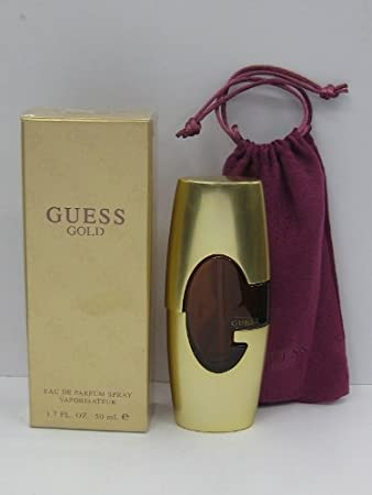Amazoncom Guess Gold Perfume For Women 17 Oz Eau De Parfum Spray