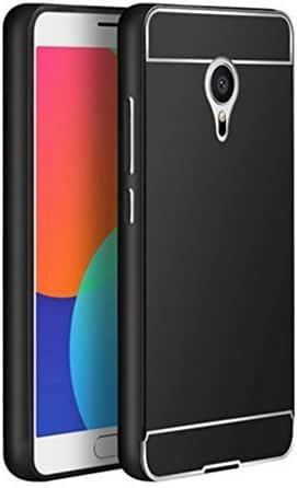 Tumundosmartphone Funda Bumper Negra Aluminio + Tapa Trasera para MEIZU MX5: Amazon.es: Electrónica