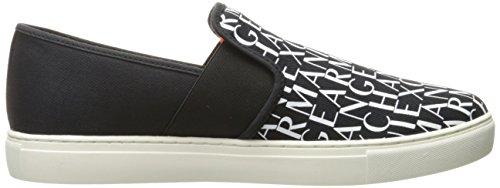A | X Armani Exchange Logotipo De Hombre Slip On Moda Sneaker Negro
