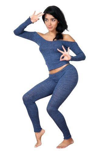 De Ballet 2 pc Ballet para el cuello en la parte superior y juego de y que fuera de bajo Rise poliámidos de KD Dance de alta calidad de Nueva York Dancewear fabricado en Pro de Nueva York Rojo