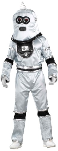 Retro Space Costume (Forum Novelties Men's Robot Adult Costume, Multicolor,)