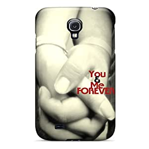 Protector Hard Phone Covers For Samsung Galaxy S4 With Unique Design High-definition You And Me Series MarieFrancePitre