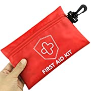 Risen First Aid Kit, Compact Medical Emergency Survival Kit, Perfect for Car, Travel, Home, Workplace, Vehicle, Camping…